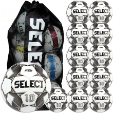 Select 12pk Numero 10 Soccer Balls Package w/ Bag