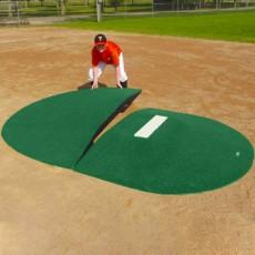 "Portolite Two-Piece 8"" Game Pitching Mound, Green"