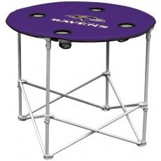 Baltimore Ravens NFL Pop-Up/Folding Round Table