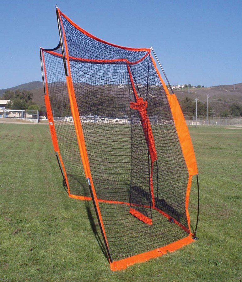 Bownet Portable Baseball Softball Backstop