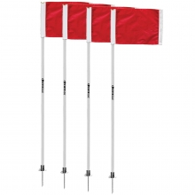Kwik Goal Official Soccer Corner Flags, set of 4, 6B504