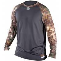 Louisville LS1514-XT Realtree Camo Compression-Fit Long Sleeve Shirt