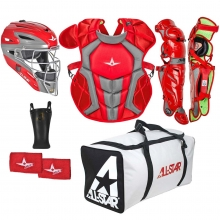 All Star Age 9-12 Youth System7 Axis Pro Catching Kit