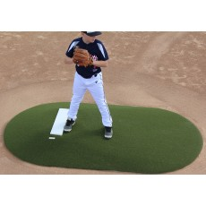 "Portolite 6""Hx8'8""Lx5'W Game Mound, Green"