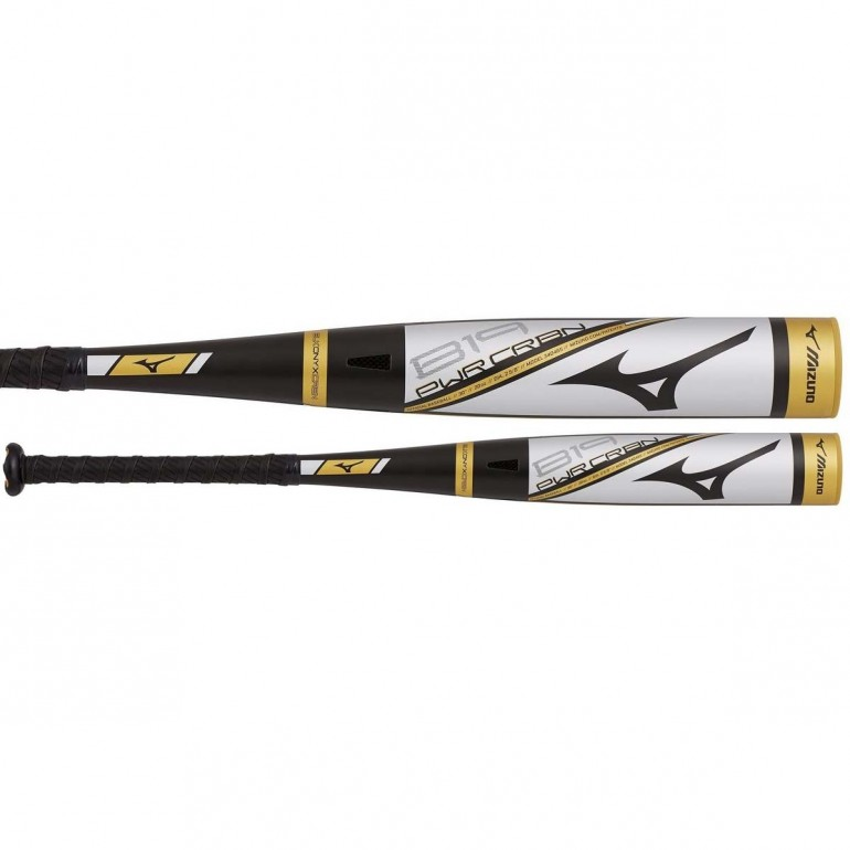 2019 Mizuno B19 PWR CRBN -10 (2-5/8) Big Barrel YOUTH USA Baseball Bat
