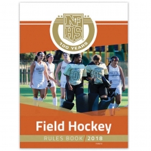 Official 2018 NFHS Field Hockey Rule Book