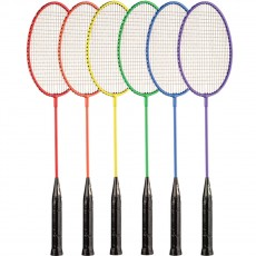 Champion 6/set Tempered Steel Badminton Rackets