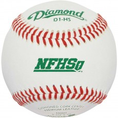 Diamond D1-HS, NFHS Official Baseball w/NOCSAE Stamp