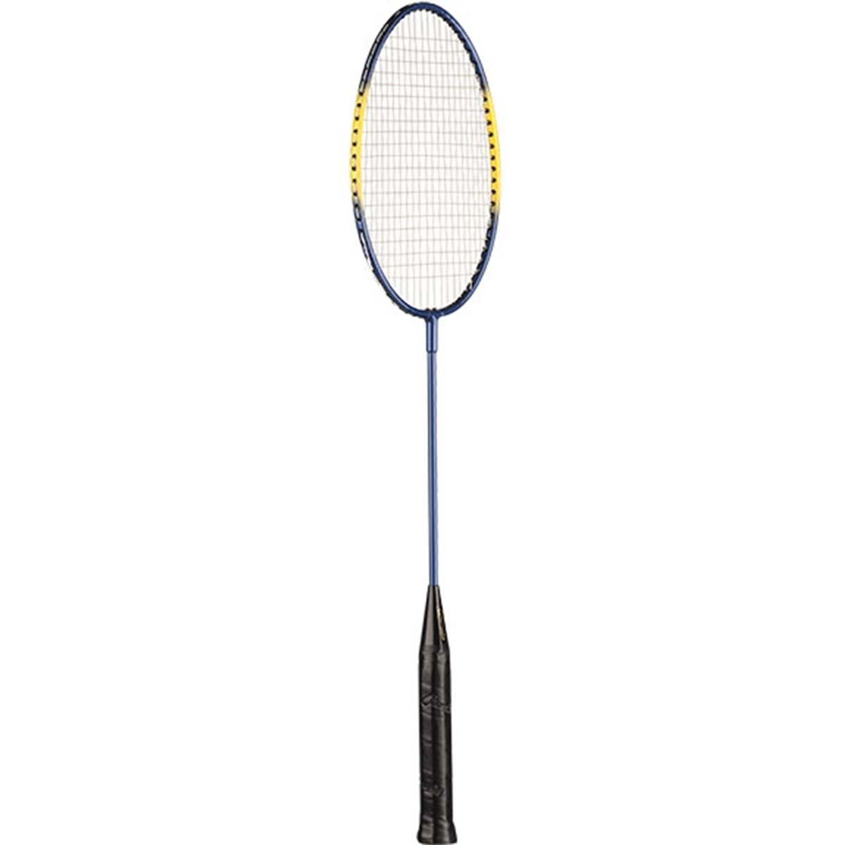 Set of 2 Bundle Champion Sports Heavy-Duty Steel Frame Badminton Racket Black