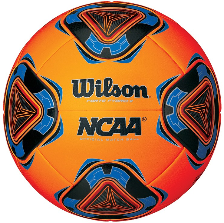 Wilson Ncaa Forte Fybrid Ii Soccer Ball Neon Orange
