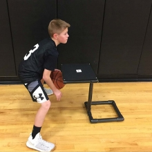 Power Dribble Basketball Dribble Box Trainer