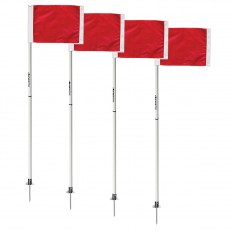 Kwik Goal Soccer Corner Flags 2 Go, set of 4, 6B604