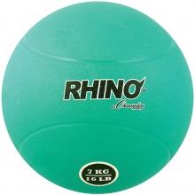 Champion 7 Kilo / 15 lb. Rubber Medicine Ball, RMB7