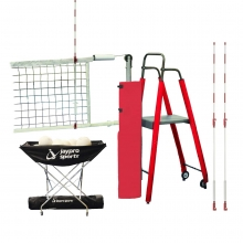 Jaypro STANDARD PVB-5000/4500 FeatherLite Volleyball Net Package