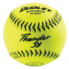 "Dudley 11"", 4E902Y Thunder ZN NSA ICON Synthetic Slowpitch Softballs, dz"