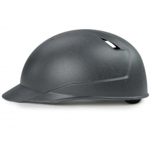 All Star Cobalt Pro Umpire Matte Black Skull Cap