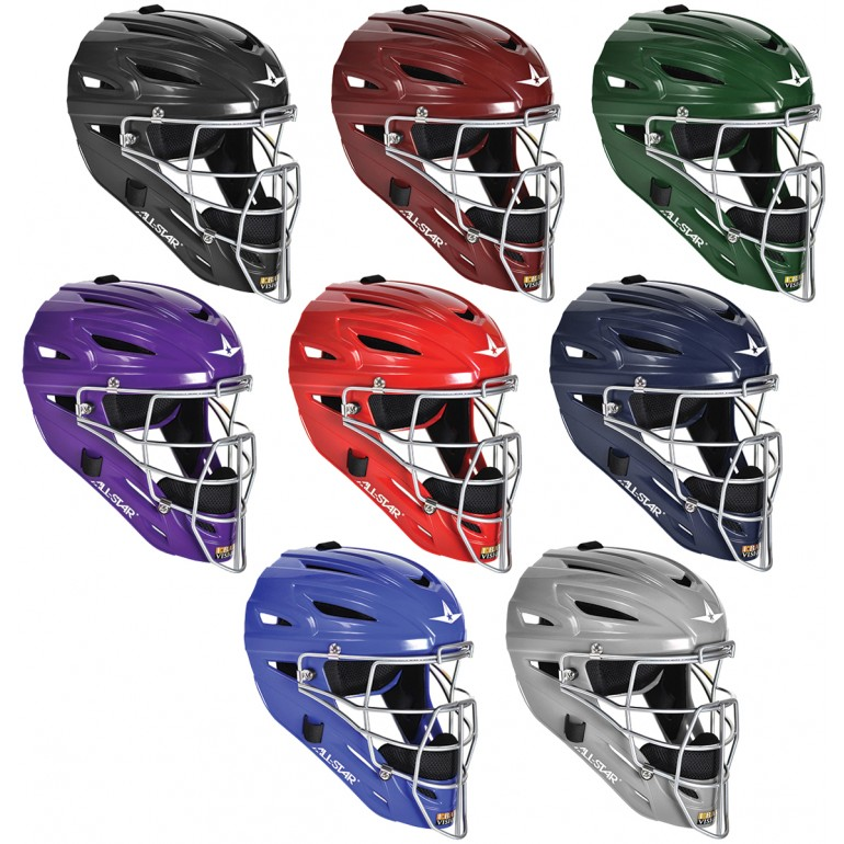 All-Star Mvp2500 Matte Catchers Helmet