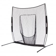 BOWNET Big Mouth Elite Pop Up Batting & Pitching Net