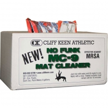Cliff Keen 30 case No Funk MC-9 Wrestling Mat Cleaner