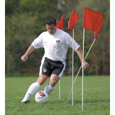 Kwik Goal Course Markers/Corner Flags, set of 4, 6B404