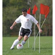 Kwik Goal Set/4 Course Markers/Corner Flags, 6B404