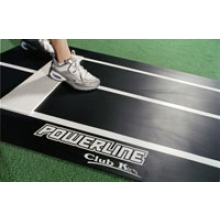 Club K Powerline Fastpitch Softball Pitching Mat