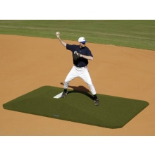 "Proper Pitch 6""Hx5'4""Wx9'L Junior Game Baseball Mound, Green"