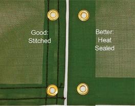 Standard Heat-Sealed Hem
