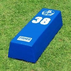 Fisher 10''H x 17''W x 48''L Stepover Football Dummy, SO4838
