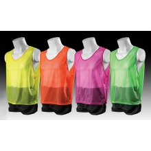 Kwik Goal 19A12 Hi-Vis Deluxe Soccer Scrimmage Vest Pinnie, YOUTH XXS