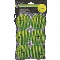 Champion 6/set USAPA Indoor Pickleballs