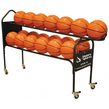 Jaypro Deluxe Basketball Training Ball Rack, DTBR-19