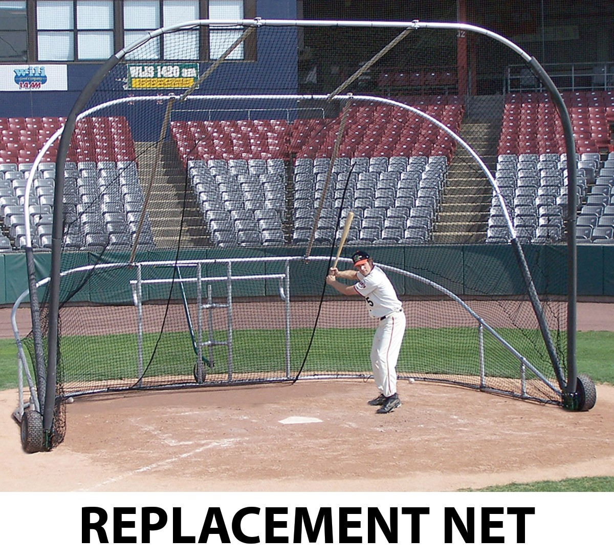 Portable Batting Cages Backyard: Portable Batting Cage REPLACEMENT NET