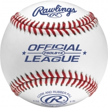 Rawlings FSOLB1X Flat Seam Official League Baseballs, dz