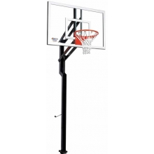"Goalsetter Contender Signature Series Outdoor Basketball Unit w/ 36"" x 54"" Acrylic Board"