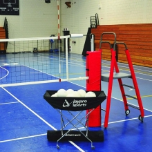 "Jaypro PVB-4500 3"" STANDARD FeatherLite Volleyball Net Package, PVB-4PKG"