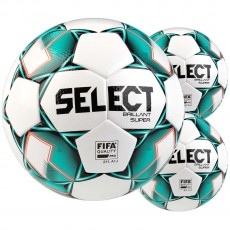 Select 3pk Brillant Super Alternate Match Soccer Ball Package