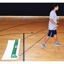 Court Clean TKH102 6' Basketball Court Cleaning Damp Mop System