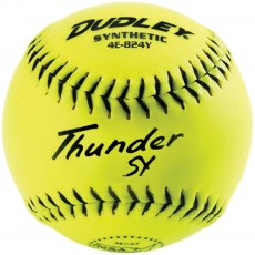 "Dudley 12"", 4E824Y Thunder SY NSA ICON Synthetic Slowpitch Softballs, dz"