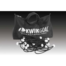 Kwik Goal 180/pk Deluxe Bungee Soccer Net Fastener Pack, 10B3509