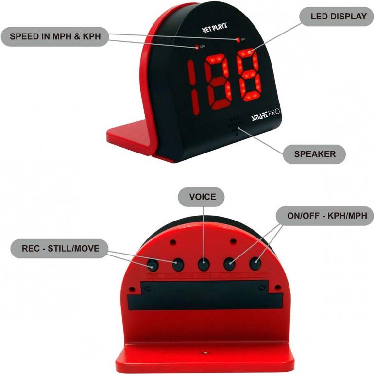 LIDIWEE Radar Detector Black Voice Alert /& Car Speed Alarm System with 360 Degree Detection LED Display