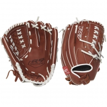 "Rawlings 12.5"" R9 Fastpitch Softball Glove, R9SB125-18DB-3/0"