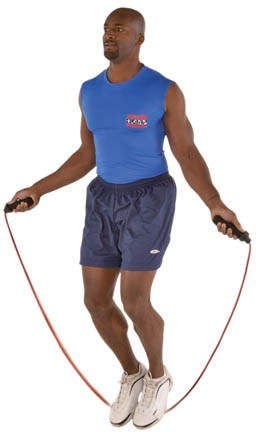 Springseile Fitness & Jogging 4lb Weighted Jump Rope