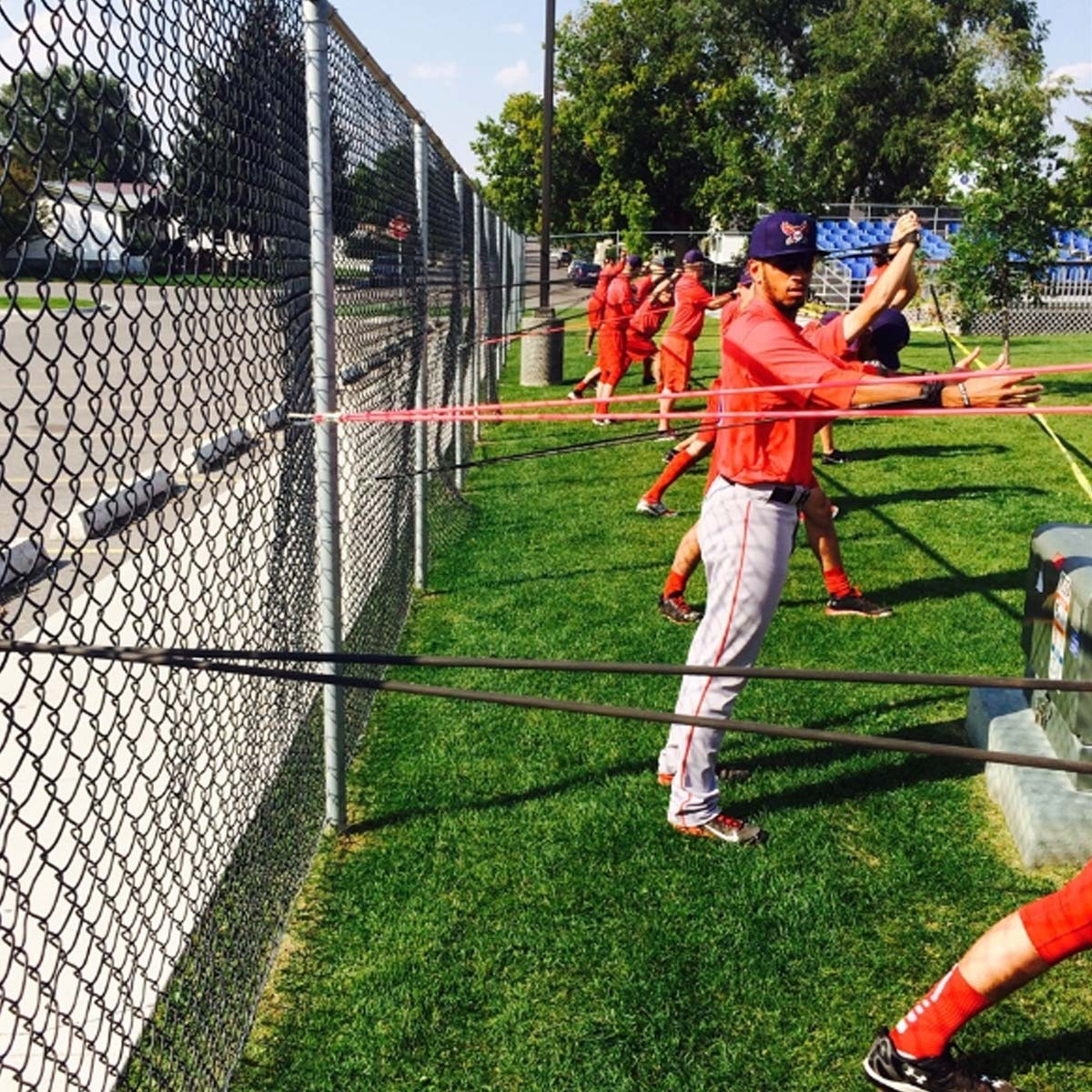 Jaeger Bands Baseball Workout