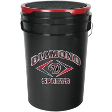 Diamond BKT B Baseball Bucket, Black