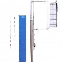 """Schelde Pro T4 4"""" Volleyball Net System"""