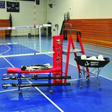 "Jaypro PVB-7000 3-1/2"" DELUXE PowerLite Volleyball Package, PVB-7PKGDX"