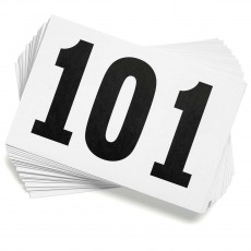 Gill 901 Track Competitor's Numbers, Numbers 101-200
