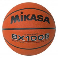 Mikasa BX1006 Varsity Series Rubber Basketball, ROOKIE, 25.5""