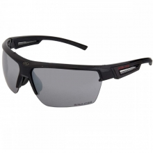 Rawlings Adult Sunglasses, Shiny Black/Smoke with Silver Mirror